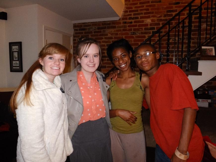 with Vatasha and Jackie